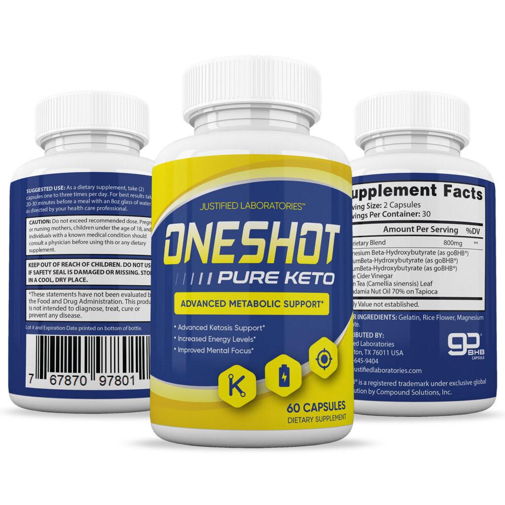 One Shot Keto pills